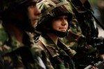 Женская психика страдает в армии чаще, чем мужская