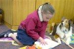 Необычный подход: собаки помогут детям с ДЦП